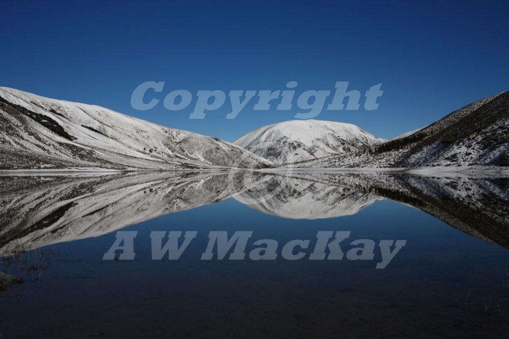Lyndon Mirrors II - Lake Lyndon Canterbury New Zealand